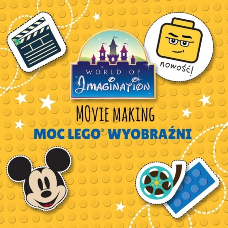 Movie Making Moc LEGO Wyobraźni