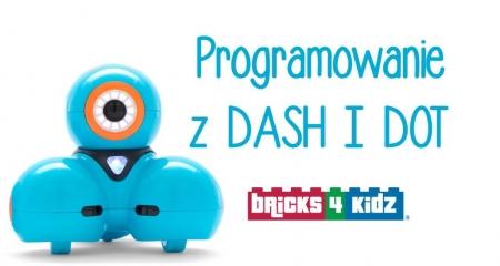 Programowanie robotów DASH&DOT [7-10 lat]